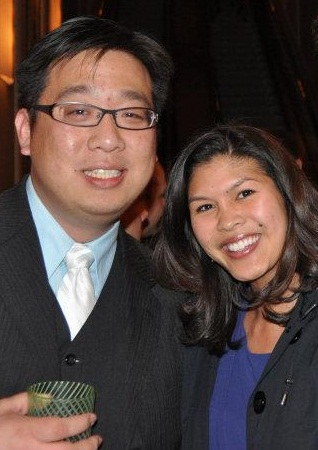 Marvin Yueh and Angela Suthrave
